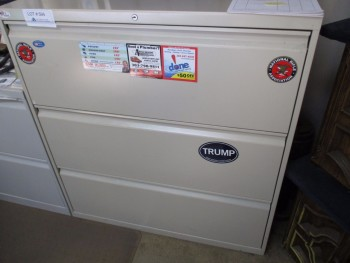 3 Drawer locking Filing Cabinet