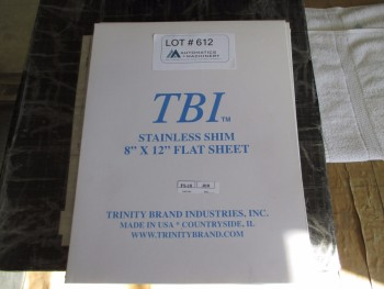 TBI Stainless Shim sets