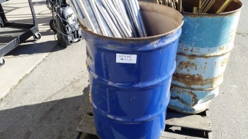Barrel Of Assorted Aluminum-300lbs