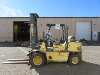 HYSTER H80XL PROPANE FORKLIFT