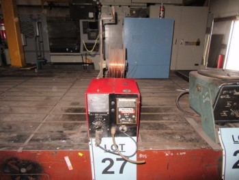 LINCOLN LN-7 WIRE FEEDER, (BACK BUILDING)