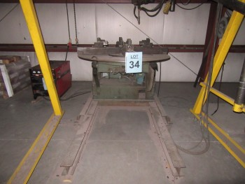 RANSOME 5,000 LB., WELDING POSITIONER, MODEL: 50P, YEAR 1978, (BACK BUILDING)