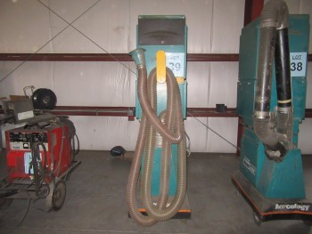 AERCOLOGY WELD AIR PORTABLE AIR CLEANER, MODEL: WA-1000 CPH, 1.5 HP, 115 VOLTS, 16 AMPS, 60 HZ, (