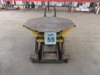 AUTOLOADER HYDRAULIC LIFT TABLE, 48 1/2'' X 51 1/2''