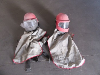 LOT (2) CLEMCO APOLLO 600 SUPPLIED AIR RESPIRATORS, (BACK BUILDING)