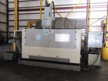 2011 CHEVALIER FVM-104125DC DOUBLE-COLUMN VERTICAL MACHINE CENTER