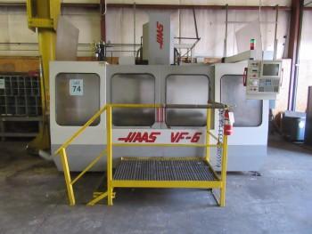 1995 HAAS VF-6 3-AXIS VERTICAL MACHINE CENTER, 20 ATC, S/N: 5820