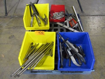 (1) Pallet of Gear/Bearing Pullers and Accessories