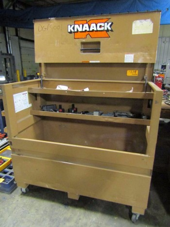 Knaack Storagemaster 89 Open Top Rolling Tool Chest