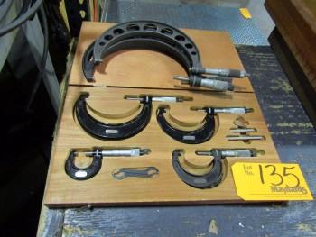 Starrett (7) Micrometers
