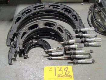 Starrett (12) Micrometers