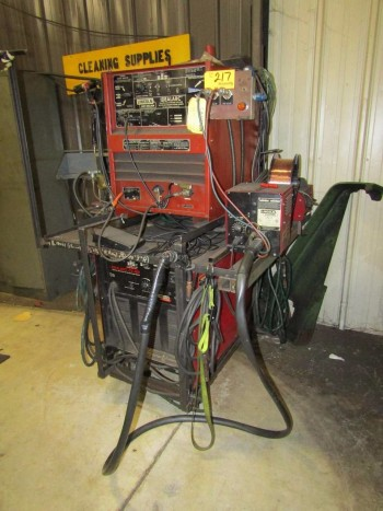 Lincoln Electric (2) Arc Welders