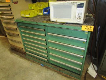 Lista (2) Heavy Duty Parts Cabinet
