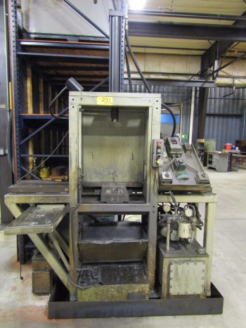 Hydraulic H-Frame Broach