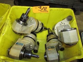 AngleHead AGH35-230 (4) Tool Holders