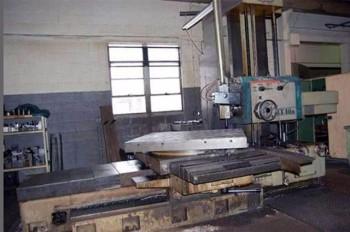 1974 Toshiba Shibaura BR-10BR Table Type Horizontal Boring Mill (Rotary Table),