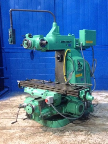 Cincinnati 3MI Horizontal Mill With Independant Vertical Motorized Overarm, 14