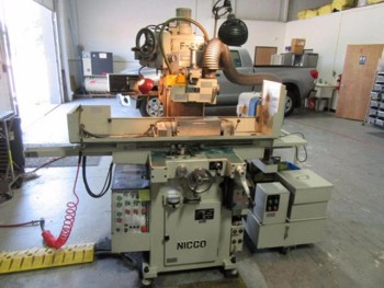 2005 Nicco F-515HD Automatic Hydraulic Surface Grinder, 6\