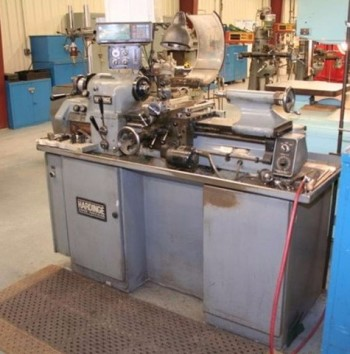 1984 Hardinge HLVH EM High Precision Toolroom Lathe, 11\