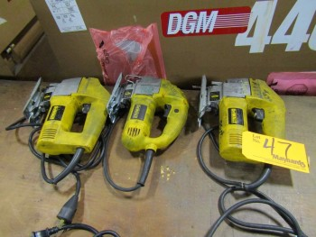 DeWalt (3) Electric Jigsaws