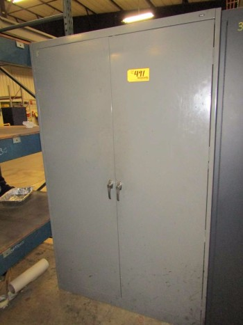 Tennsco 2-Door Parts Cabinet