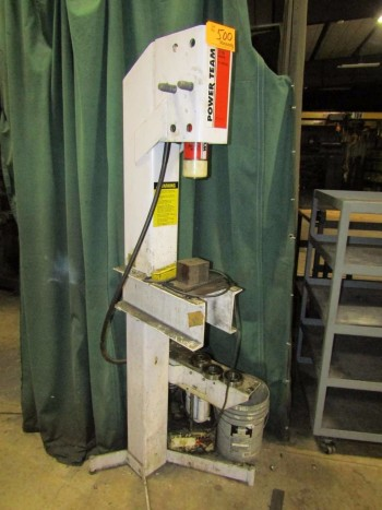 Power Team A Hydraulic Press
