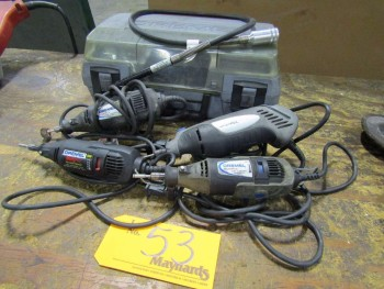 Dremel (4) Electric Rotary Tools