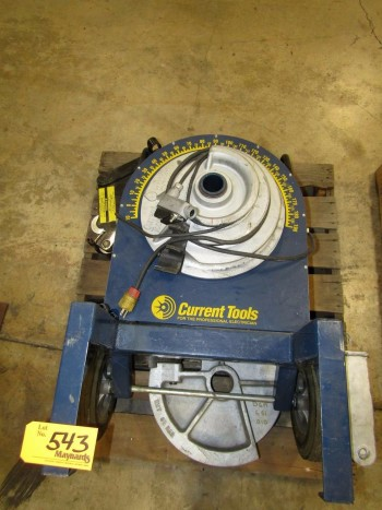 Current Tools 77 Electrical Conduit Bender