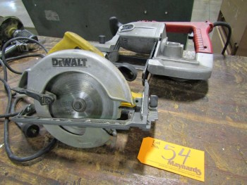 (2) Electric Saws