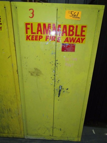 Eagle 1962 Fire Safety Cabinet
