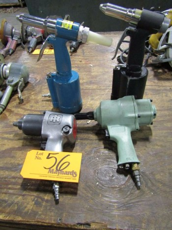 (3) Pneumatic Riveters