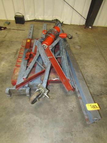 CM Lodestar 1 Ton Gantry Crane