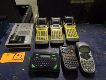 (7) Portable Label Makers