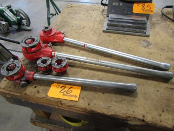 Ridgid (3) Manual Pipe Threaders