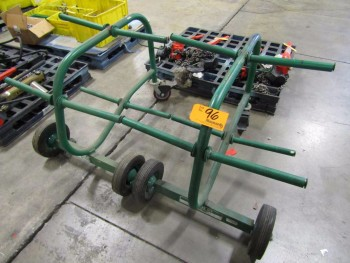 Greenlee 909 (2) Wire Dispenser Carts