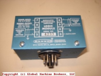 Banner Modulated Photoelectric Amplifier MB3-4