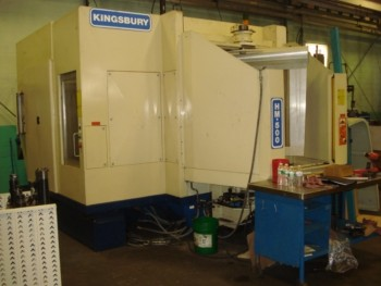 Kingsbury HM-500  CNC HMC New In 2006 W/Dual 19\