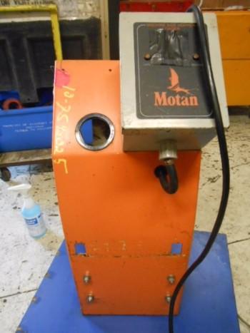 2x Motan Plastic Vacuum Loaders 1Ph 115/230 Volt 1Hp 3450 Rpm