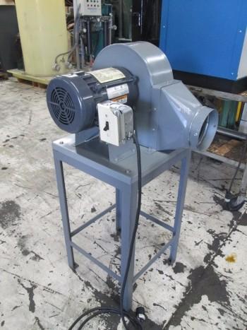 Centrifugal Blower w/ Emerson 1/3HP Electric Motor