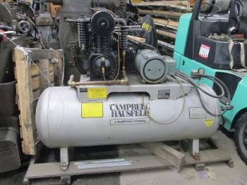 Campbell Hausfeld 200-230/460V 3Ph 5Hp Horizontal Air Compressor Rebuilt Pump