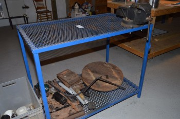 2ft X 4ft Work Table &  Shop Vise,