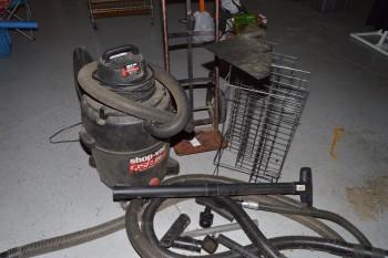 5hp Shop Vacuum, Dollie & Parts
