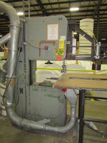 Bandsaw Header Saw W/Dust Collector