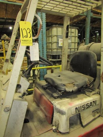 Nissan Lift Truck M#CHF03A35V