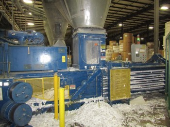 American Baler Co. Baler System With Auto Tie. Mdl 10557