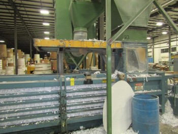 Maren Engineering. Corp Baler System Mdl 203 With 25 Hp Motor