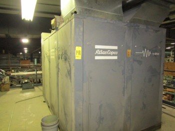Atlas Copco Air Compressor M#GA132-VSD