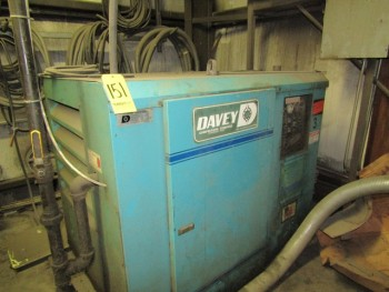 Davey Air Compressor M#25 Baq