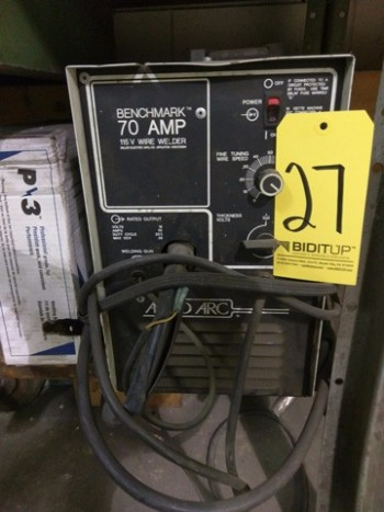 Benchmark 115v Wire Welder
