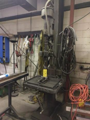 Drill Press W/Vise